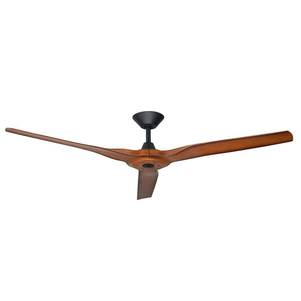 Radical 2 60 DC Ceiling Fan Black and Koa - Lighting Superstore