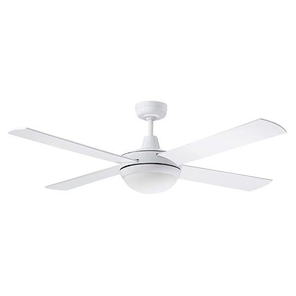 Lifestyle 52 Ceiling Fan White - 24w LED Light