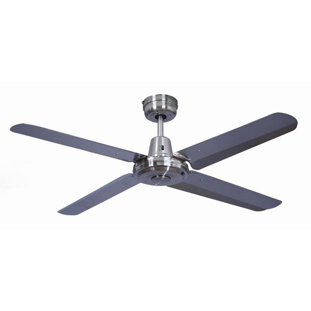 Swift 48 Ceiling Fan Brushed Chrome
