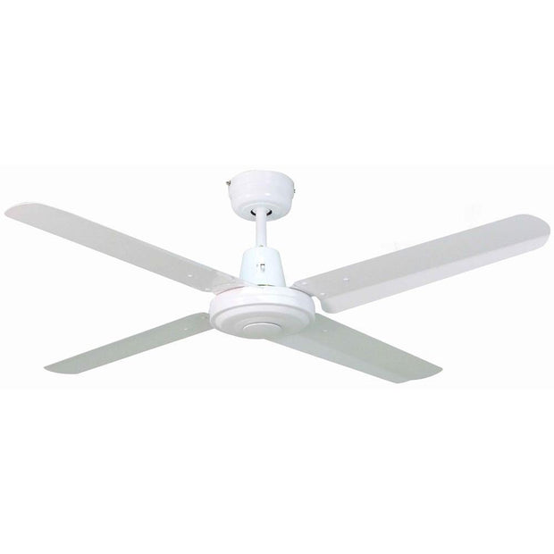 Swift 52 Ceiling Fan White