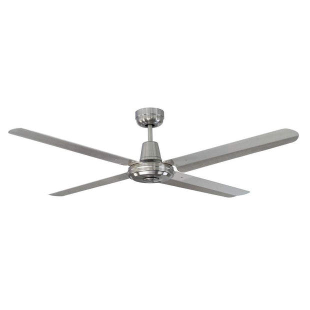 Swift 52 Ceiling Fan Brushed Chrome