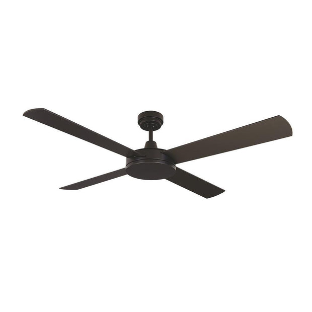 Luna 52 Ceiling Fan Black