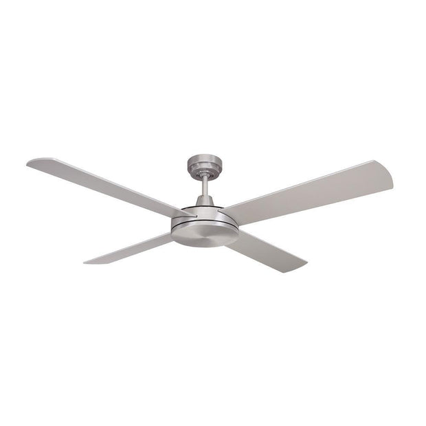 Luna 52 Ceiling Fan Brushed Chrome