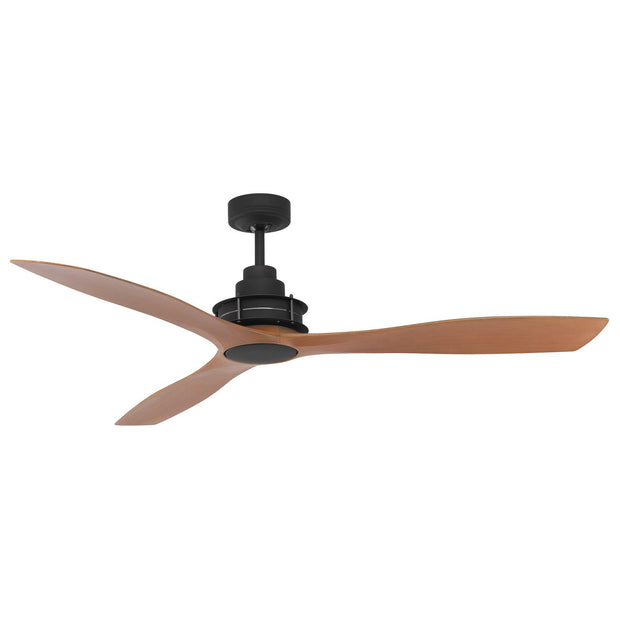 Clarence 56 Ceiling Fan Oil Rubbed Bronze and Dark Timber