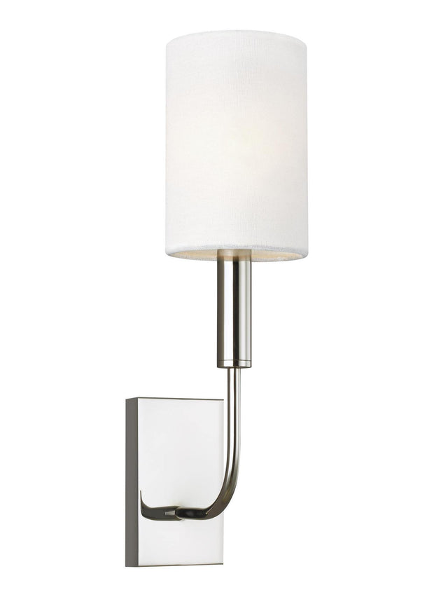 Brianna Interior Wall Light Polished Nickel