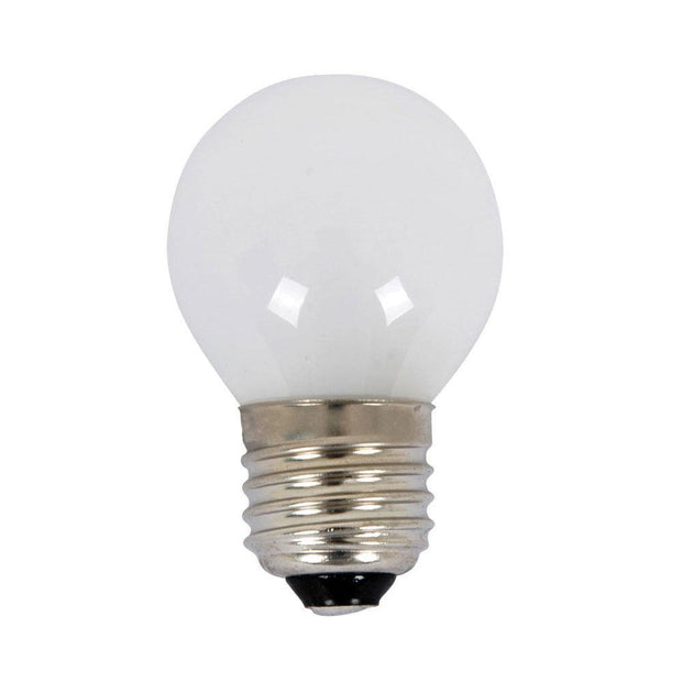 18w = 25w Edision Screw (ES) Frosted Fancy Round Energy Saving Halogen - Lighting Superstore