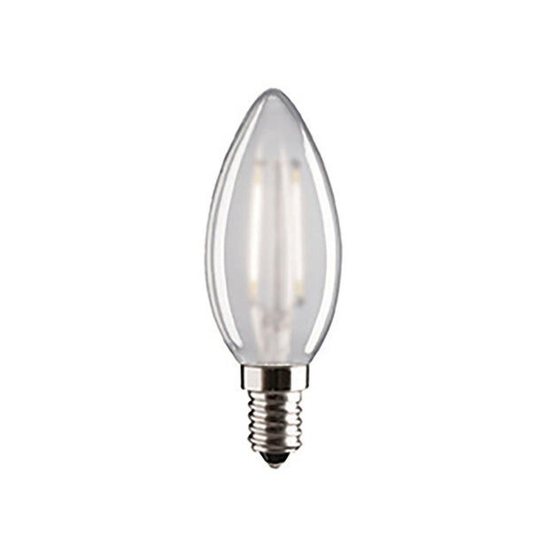 4w Small Edison Screw (SES) LED Carbon Filament Candle - Lighting Superstore