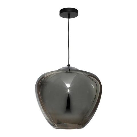 Helena Large Pendant Light - Smoke