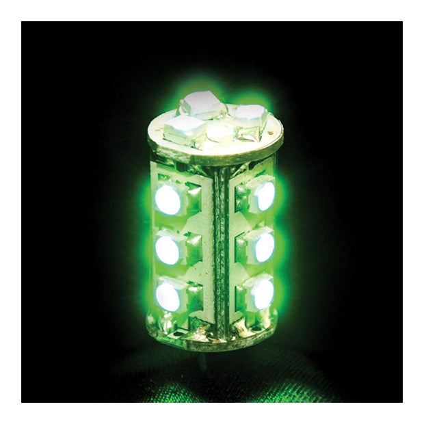LED Bi Pin Tower Green 1.4W - Lighting Superstore