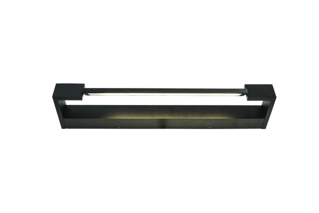Jerome 18w LED Wall Vanity Light Black