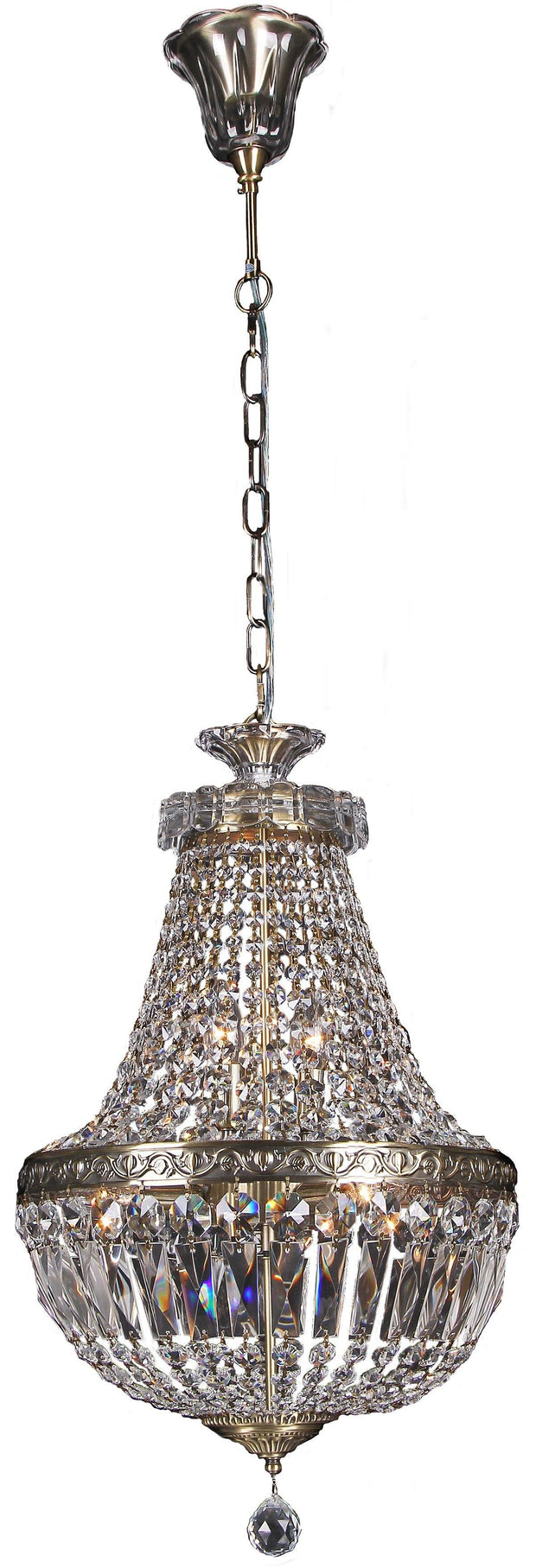 Le Pavillon 3 Light Pendant - Small - Lighting Superstore
