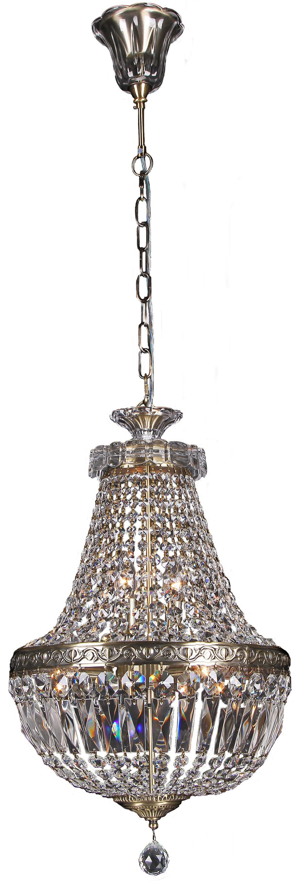 Le Pavillon 5 Light Pendant - Large - Lighting Superstore