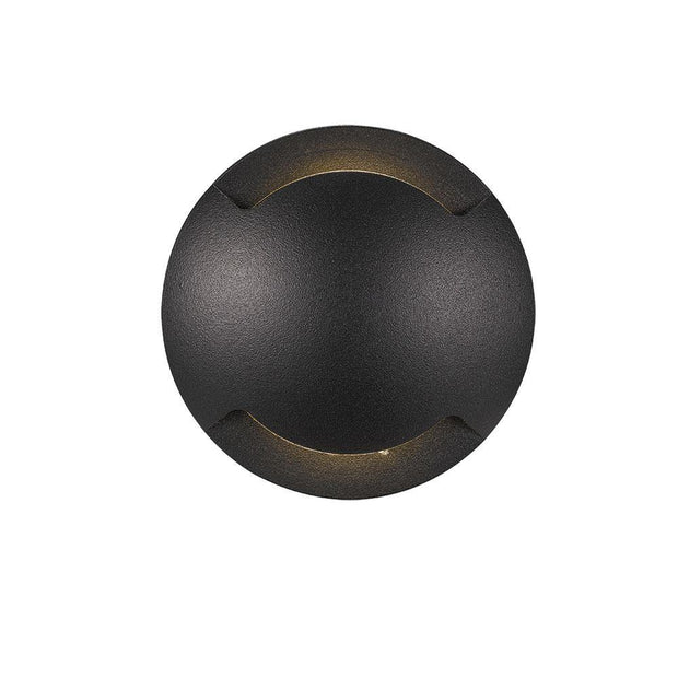 Luc 6w Inground/Deck Light Black 2 Way - Lighting Superstore