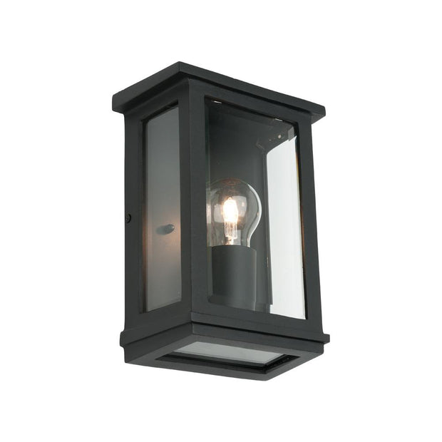 Madrid Exterior Wall Light Small - Black