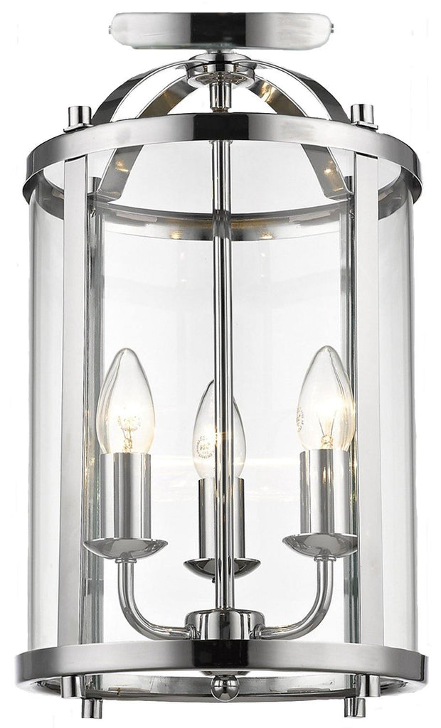 Manor CTC Close to Ceiling Chrome - Lighting Superstore