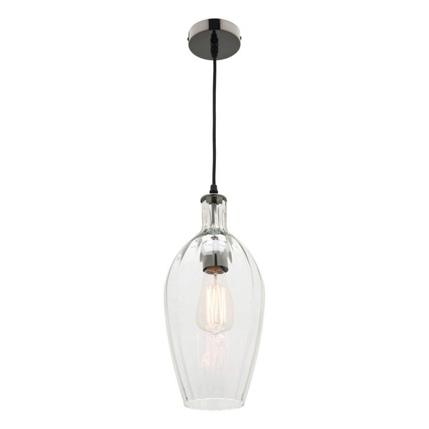 Belmont Pendant Light Clear Glass - Lighting Superstore