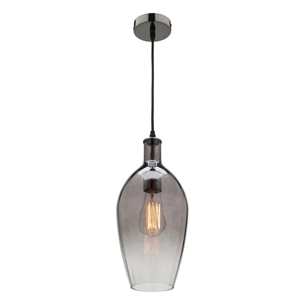 Belmont Pendant Light Smoke Glass - Lighting Superstore