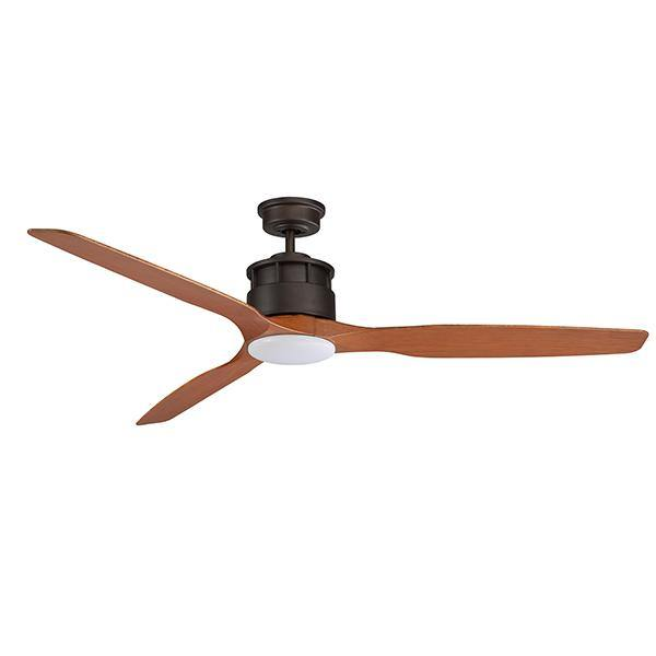 Governor 60 Ceiling Fan Bronze and Teak - 15w LED Light