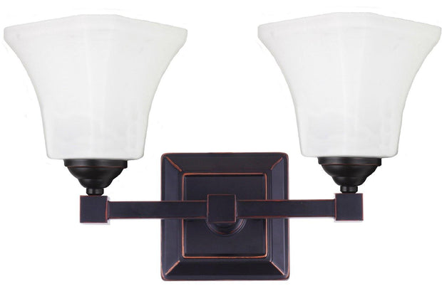 Monroe 2 Light Wall Bracket Bronze