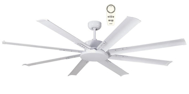 Albatross 65 DC Ceiling Fan White - Lighting Superstore