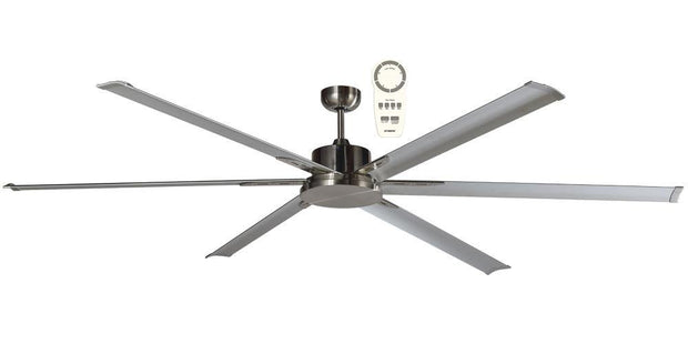 Albatross 84 DC Ceiling Fan Brushed Nickel - Lighting Superstore