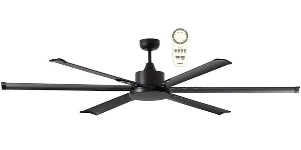 Albatross 84 DC Ceiling Fan Black - Lighting Superstore