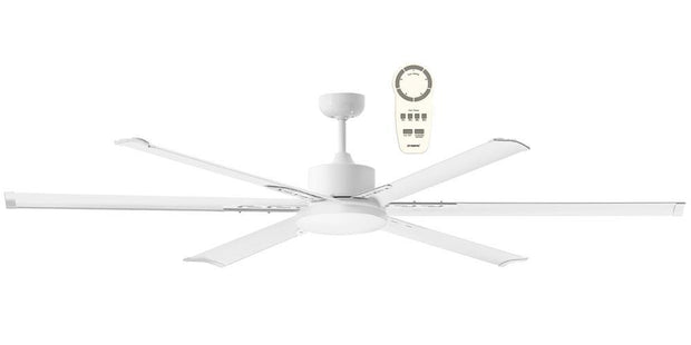 Albatross 84 DC Ceiling Fan White - Lighting Superstore