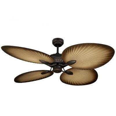 Oasis 52 Ceiling Fan Oil Rubbed Bronze Palm Blades