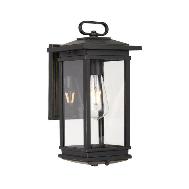 Nevin Exterior Coach Light Black - Lighting Superstore