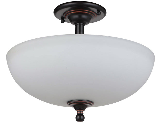 Nova CTC Close to Ceiling 3 Light Bronze - Lighting Superstore