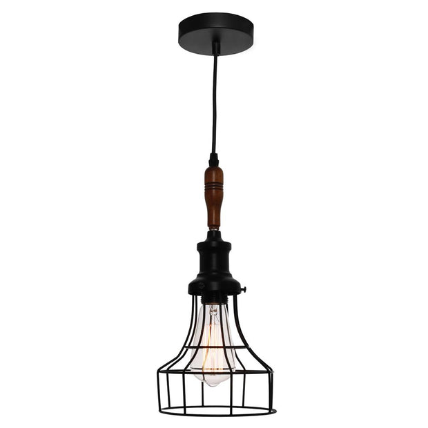 Reed Cage Pendant Light