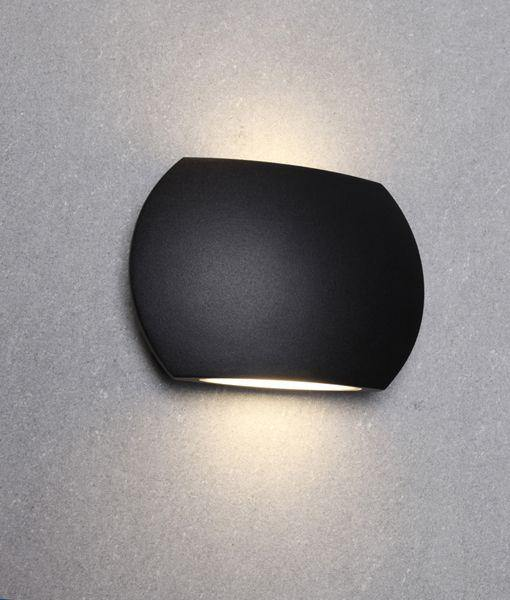 Remo1 Exterior LED Wall Light Black