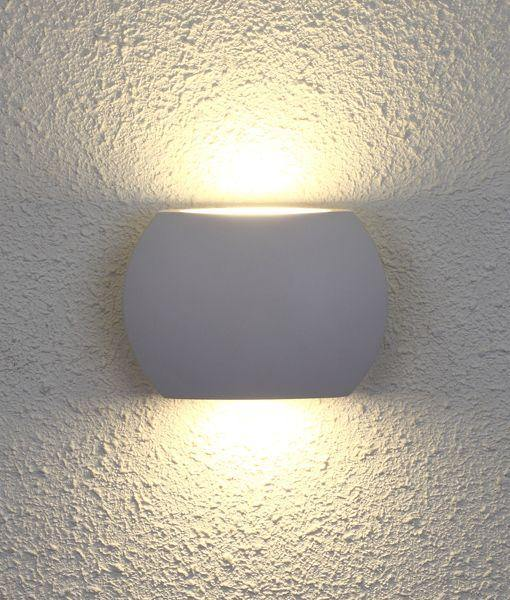 Remo2 Exterior LED Wall Light White
