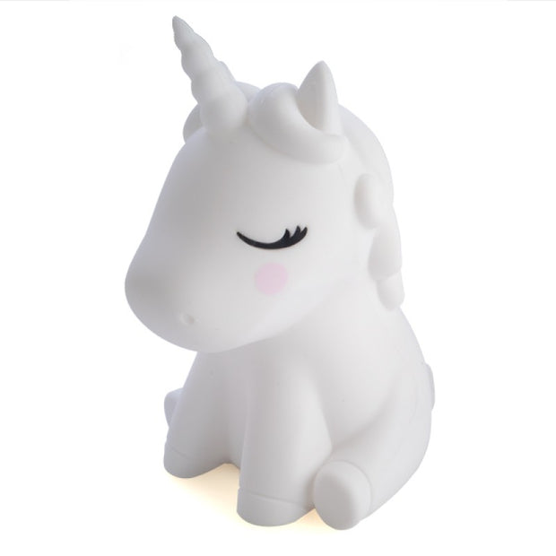 Lil Dreamers Unicorn Soft Touch LED Night Light