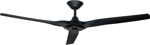 Radical 2 60 DC Ceiling Fan Black - Lighting Superstore