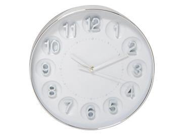 Kate Clock Silver