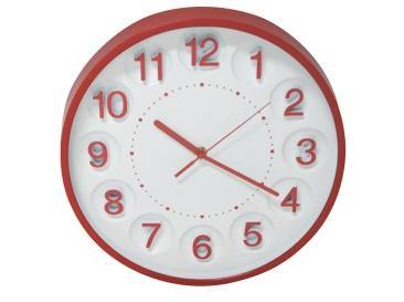 Kate Clock Red - Lighting Superstore