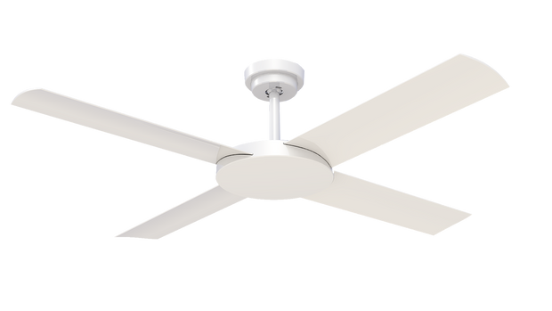 Revolution 3 52 Ceiling Fan White