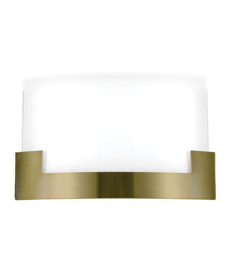 Solita Wall Light Tri-Colour LED Antique Brass Large - Lighting Superstore