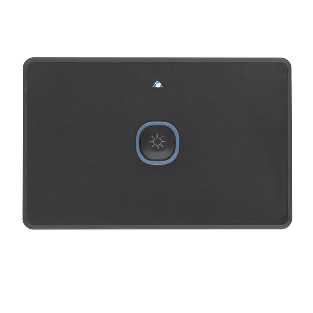Smart Zigbee 1 Gang Wall Switch with Dimmer Black
