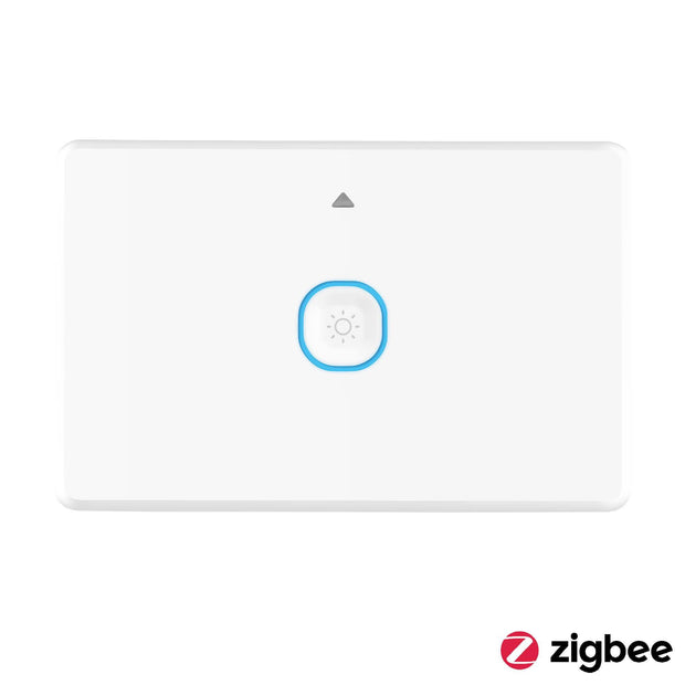 Smart Zigbee 1 Gang Wall Switch with Dimmer White