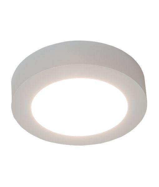 Surface Mount 6w LED Oyster Round White 5000k