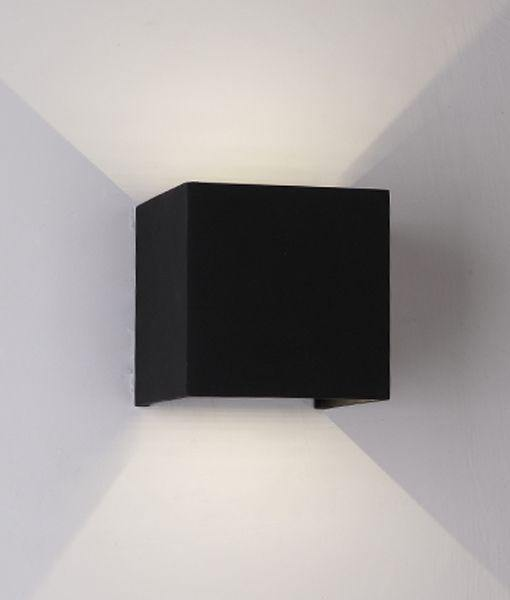 Toca LED Wall Light with Adjustable Beam Small - Black