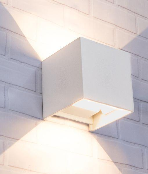 Toca LED Wall Light with Adjustable Beam Small - White