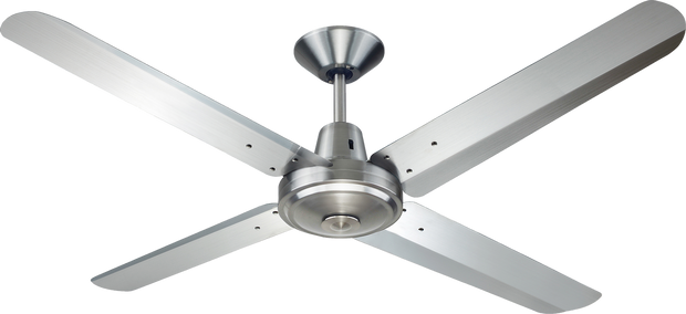 Typhoon 56 Ceiling Fan 316 Stainless Steel - Lighting Superstore
