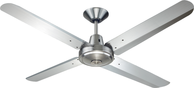 Typhoon 52 Ceiling Fan Brushed Chrome - Lighting Superstore