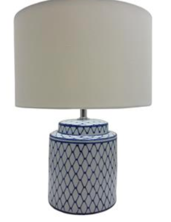 TL1842 Hamptons Ceramic Table Lamp Medium