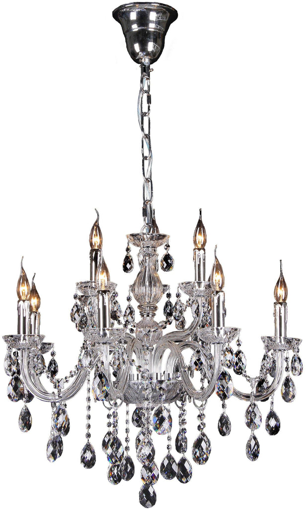 Venice 9 Light Crystal Chandelier - Lighting Superstore