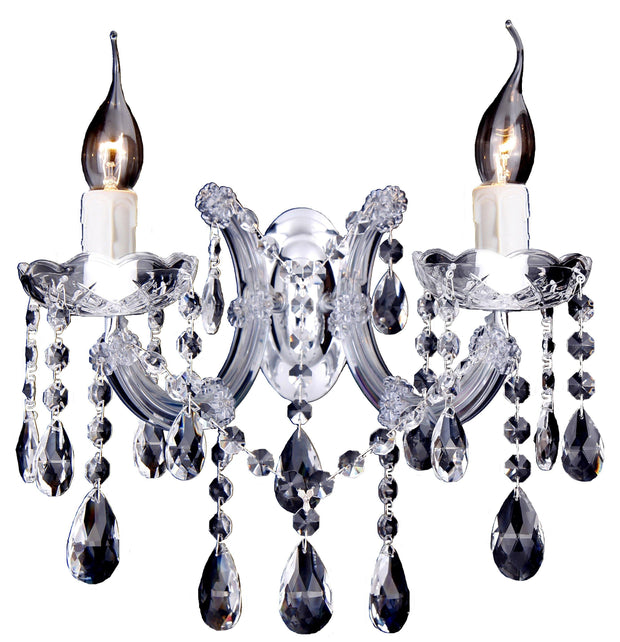 Zurich Crystal Wall Light