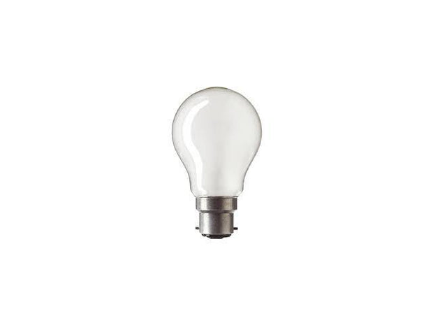 28w = 40w Bayonet (BC) Frosted Fancy Round Energy Saving Halogen